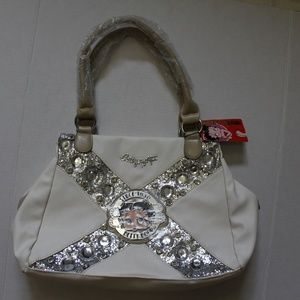 Betty Boop Hobo Bag Purse B14H-300 White